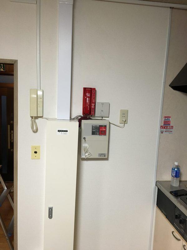 消防機関へ通報する火災報知設備