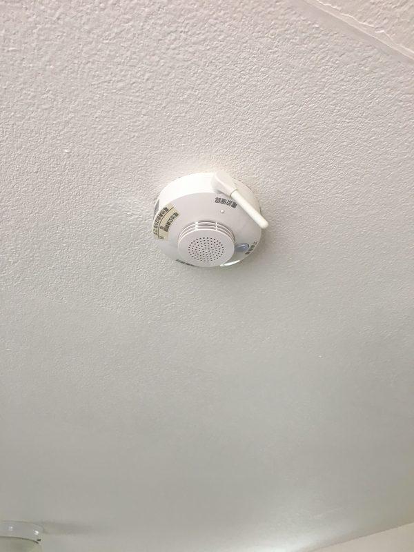 特定小規模用自動火災報知設備新規設置(無線式)
