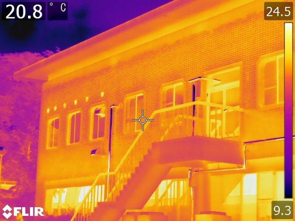 群馬県桐生市 全面打診検査及び外壁赤外線調査