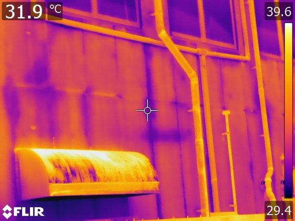 外壁及び屋上防水赤外線による漏水調査