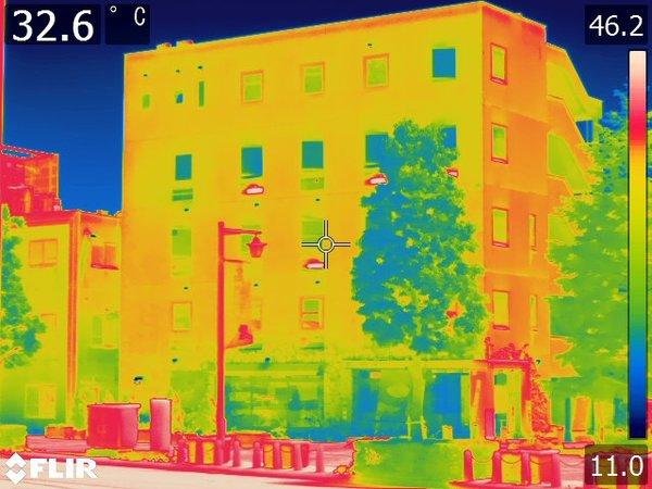 群馬県高崎市 外壁赤外線調査