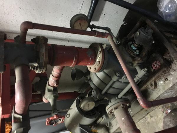 消防設備スプリンクラーポンプ調査