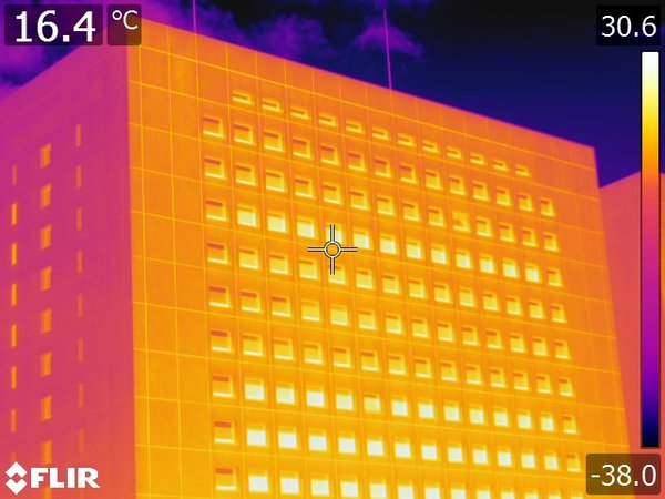 外壁赤外線調査