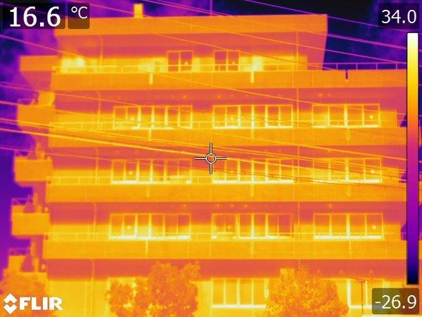 特定建築物定期調査・外壁全面打診及び赤外線調査(茨城県古河市)