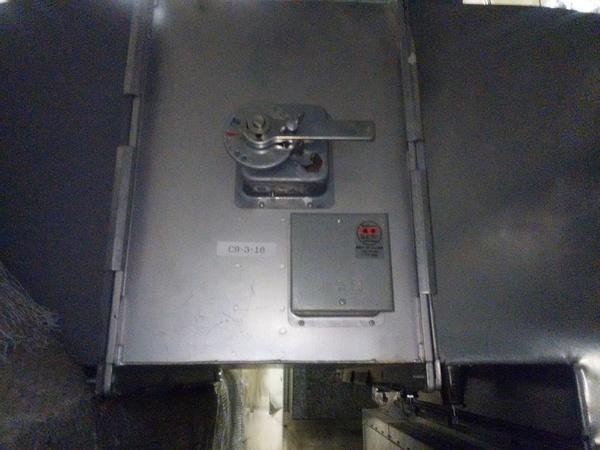 栃木県の工場にて防火ダンパー点検